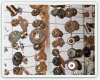 Selection of gears and gearboxes.